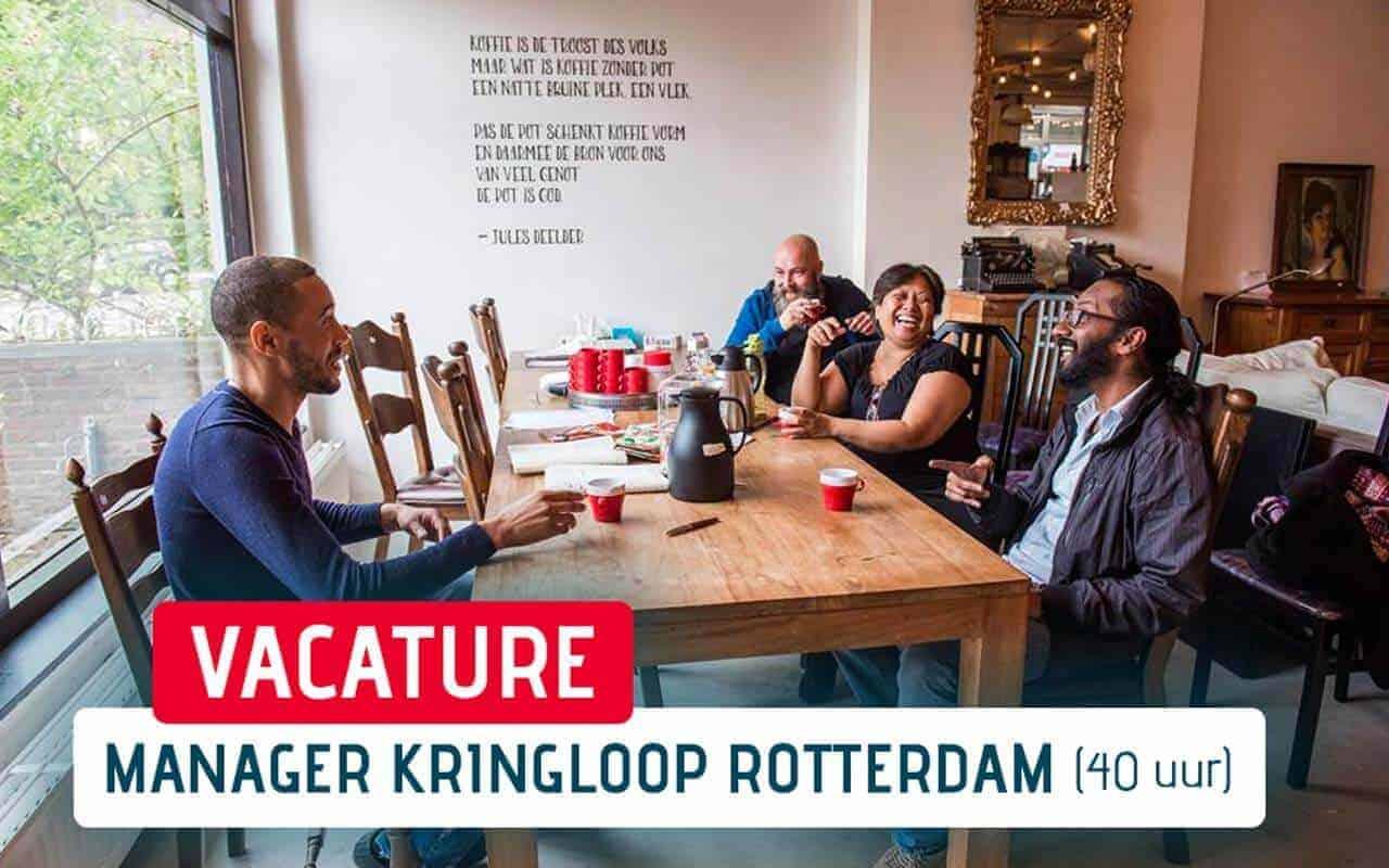 Vacature WinkelManager Rotterdam