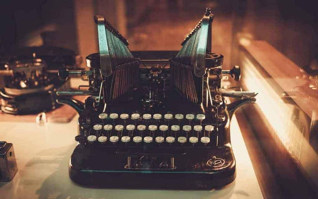 Brocante Typemachine