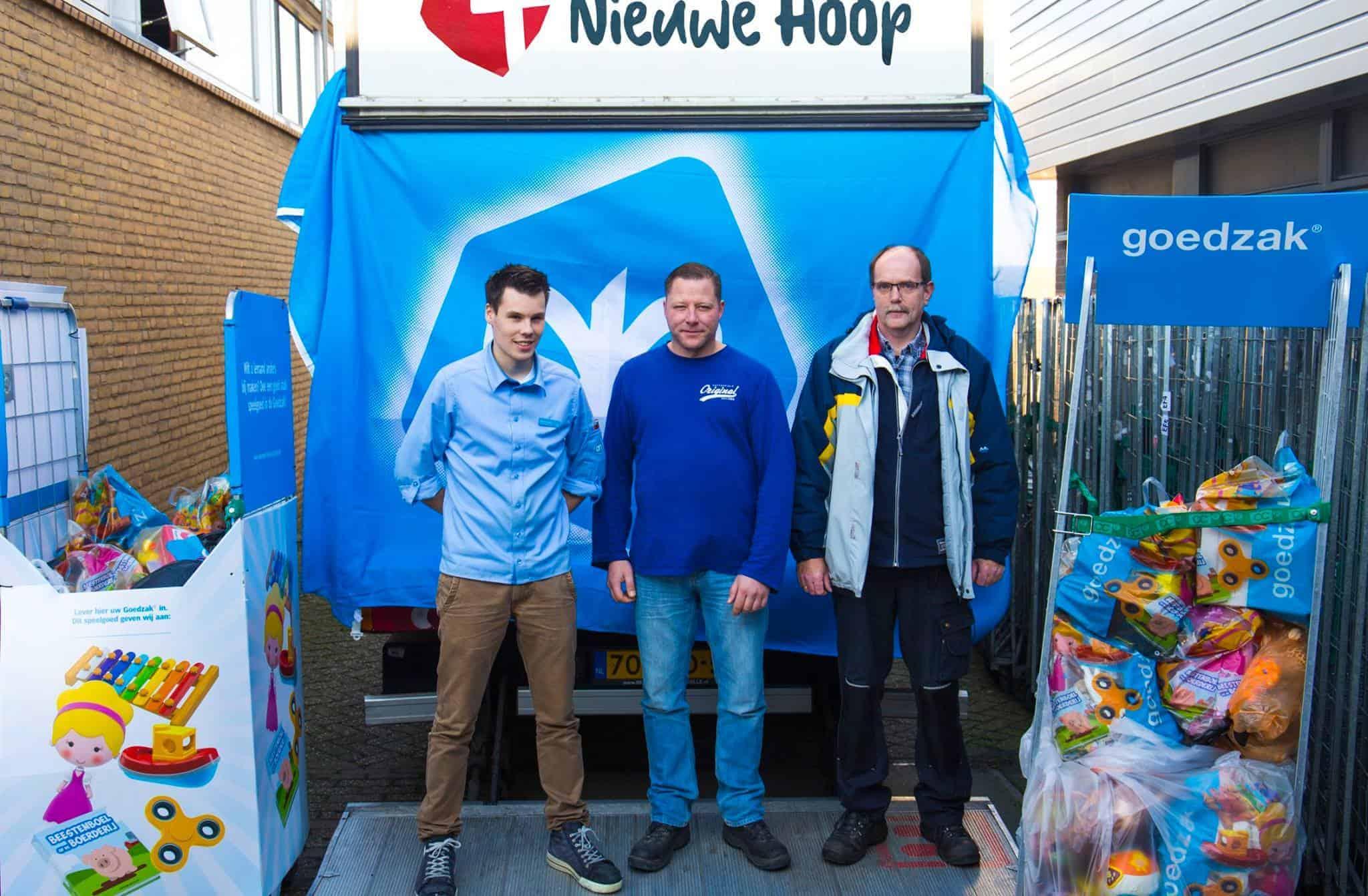 Albert Heijn steunt Nieuwe Hoop