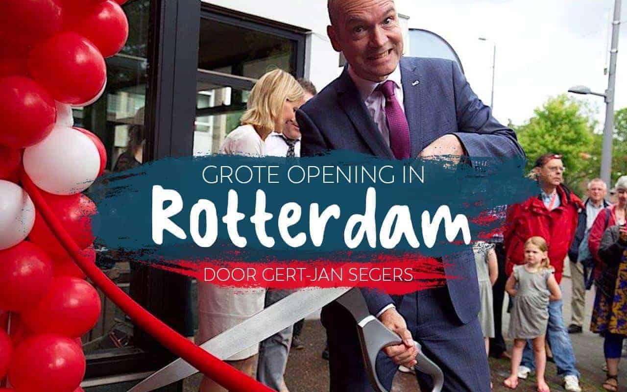 Officiële opening Kringloopwinkel & Thuishaven Rotterdam Kralingen