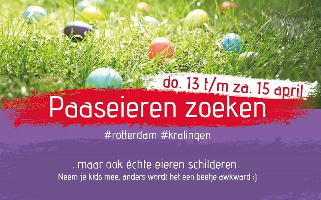 Paaseieren verstopt in Rotterdam – 13 t/m 15 april