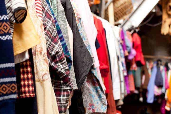 Vintage kleding Kringloopwinkel Nieuwe Hoop