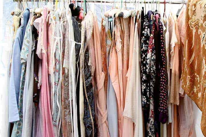 Vintage kleding kringloop