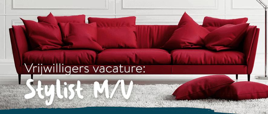 Vrijwilligers vacature - Interieur Stylist