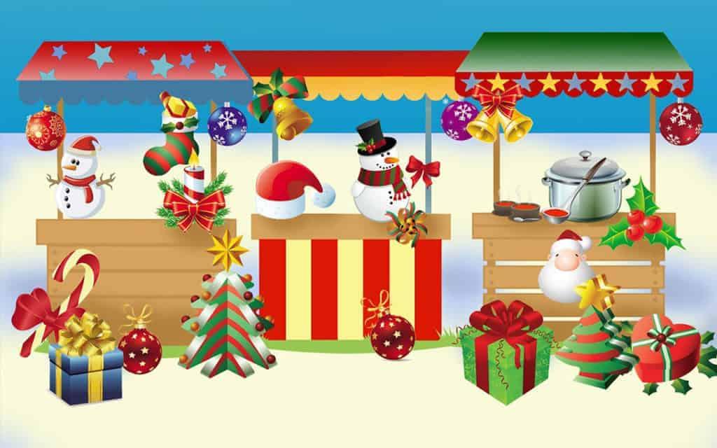 Kerst markt vogelbuurt Dordrecht