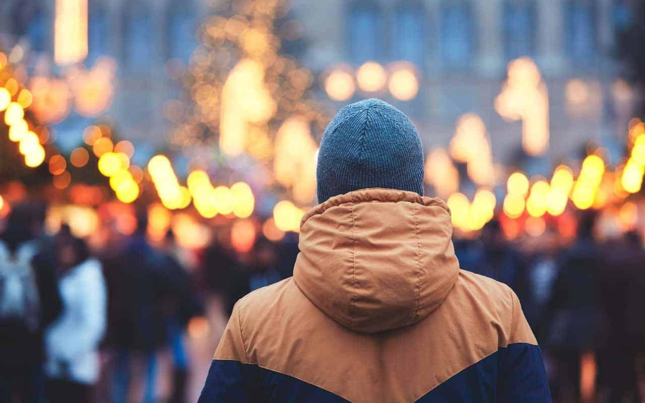 Kringloopwinkel kerstmarkt