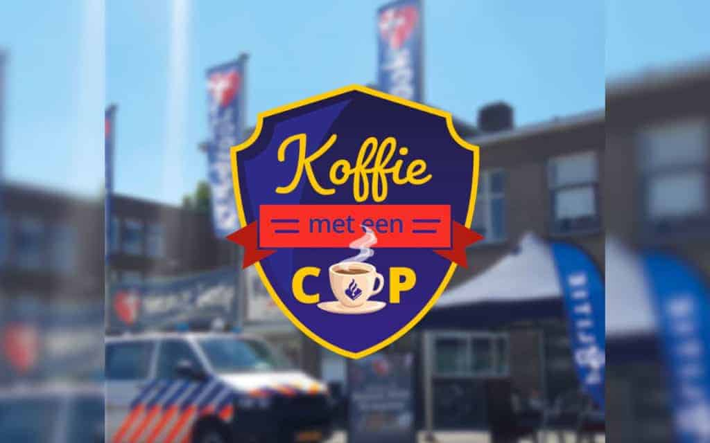 Koffie drinken met een politieagent in Dordrecht